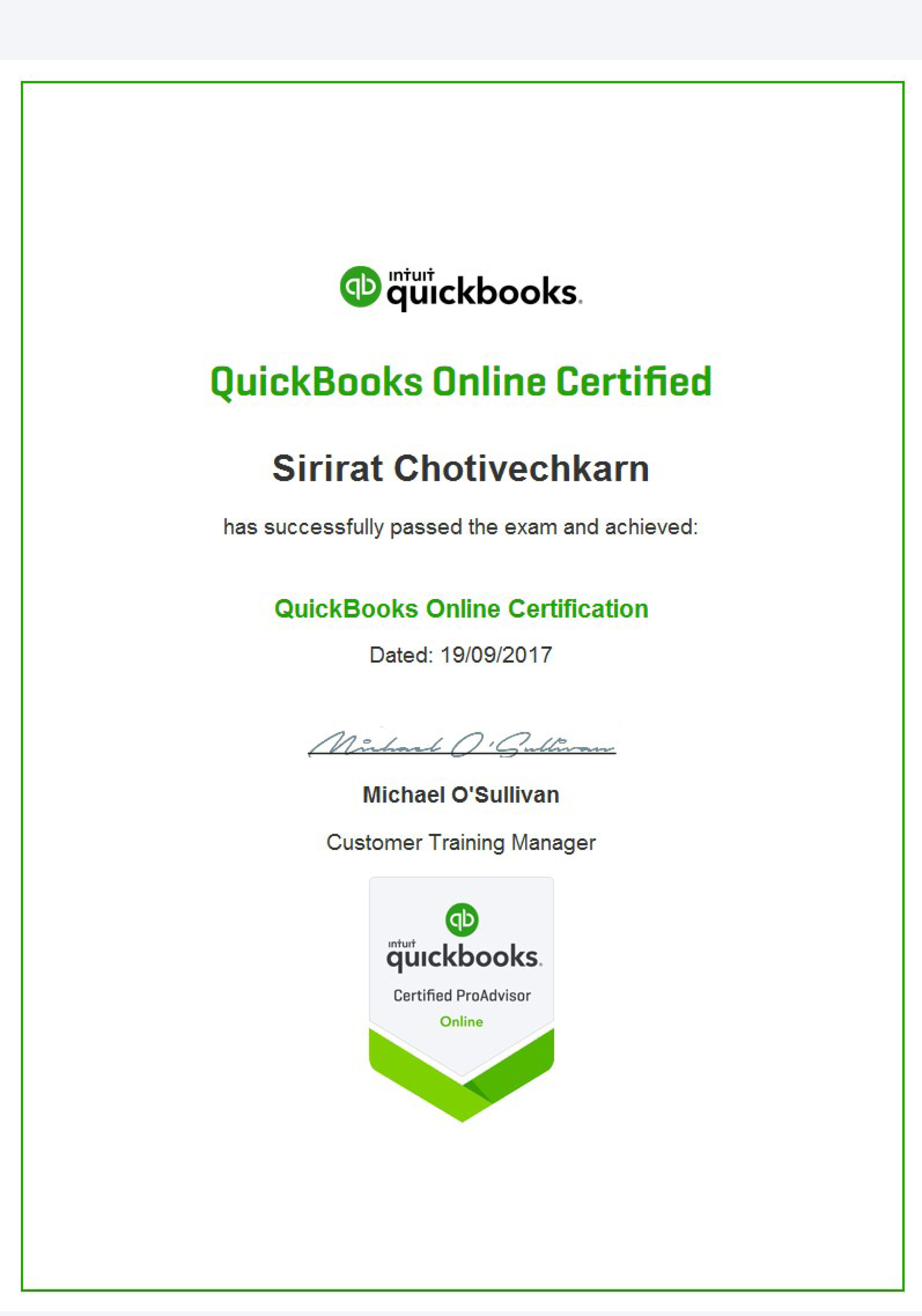 Thailand Bangkok Phuket QuickBooks Accounting Bookkeeping