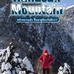 หน้าหนาวแล้ว ขึ้นเขา Hallasan Mountain ดูหิมะกันดีกว่า!