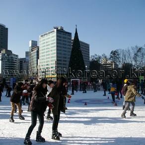 เพลิดเพลินกับฤดูหนาวอย่างเต็มที่! เล่นสเก็ตน้ำแข็งและเลื่อนหิมะในเกาหลี