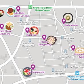 8 ร้านอาหารแนะนำในมยองดง(Myeongdong) สำหรับนักท่องเที่ยว