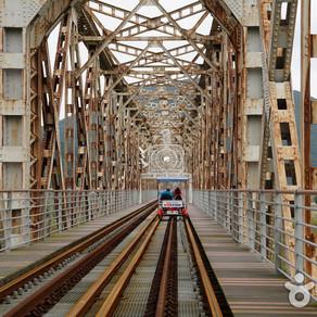 สวนรถไฟริมแม่น้ำ Gimhae Nakdonggang