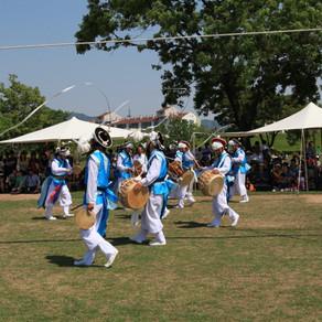 การแสดงโชว์วัฒนธรรมโบราณ แฮมีอึบซอง (Haemi Eupseong Traditional Cultural Performance)