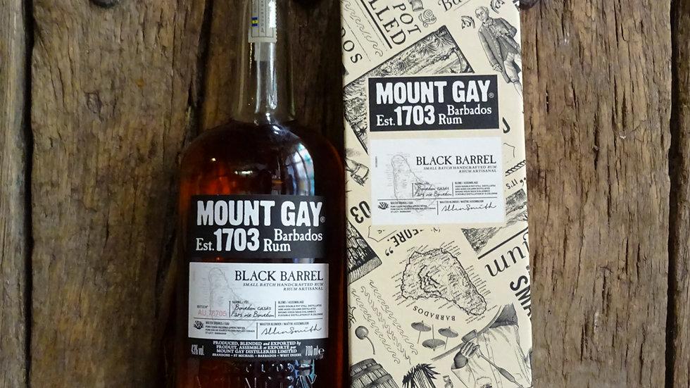 Rhum Black Barrel - Mount Gay - 70cl - 43°