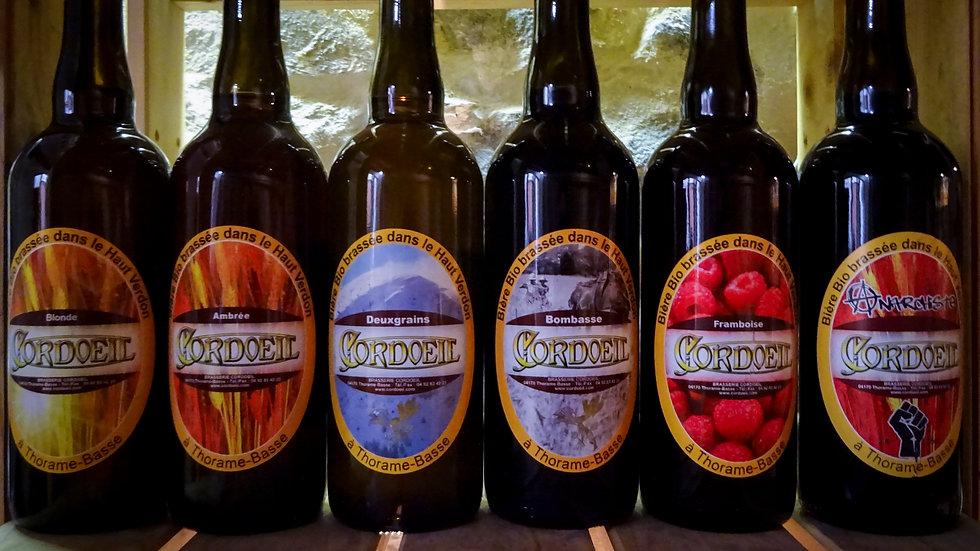 Bières artisanales bio - Brasserie Cordoeil