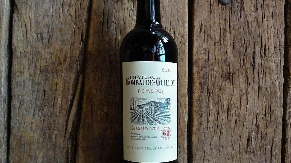 Rouge bio et nature - Château Gombaude-Guillot