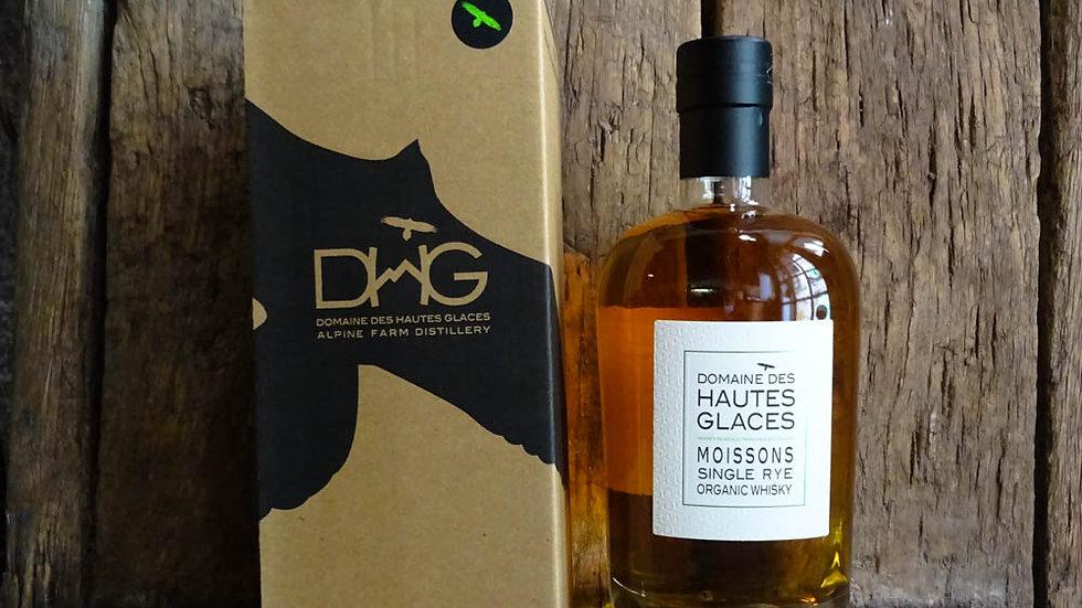 Single Rye organic Whisky - Domaine des Hautes Glaces