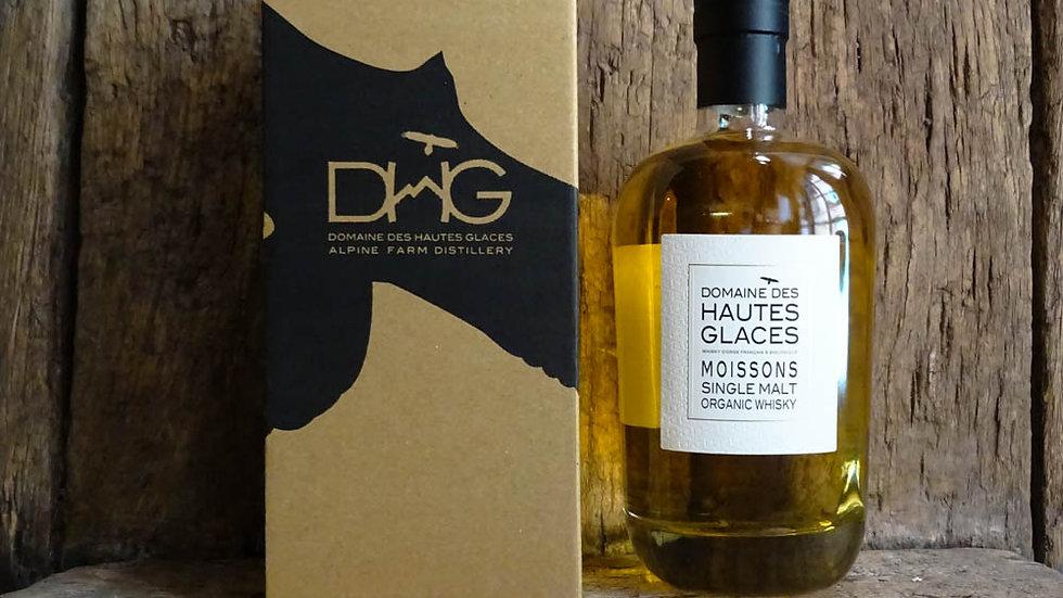 Single malt organic Whisky - Domaine des Hautes Glaces