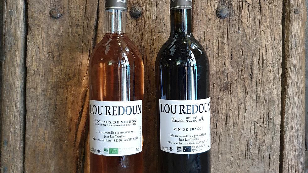Rouge bio - Domaine Lou Redoun