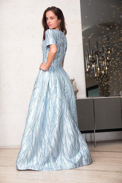 TEEN Blue Gown