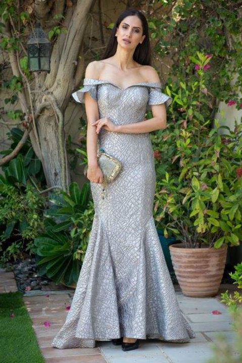 #1857 Evening Gown