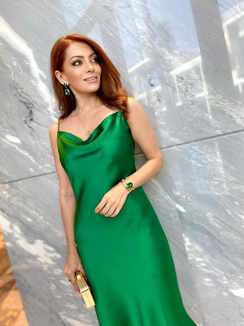 GRANATE Slip Dress