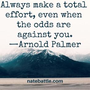 Purpose + Effort = Attainment
