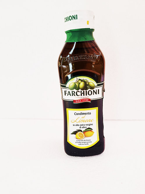 Aceite oliva Farchioni limon x 250 ml