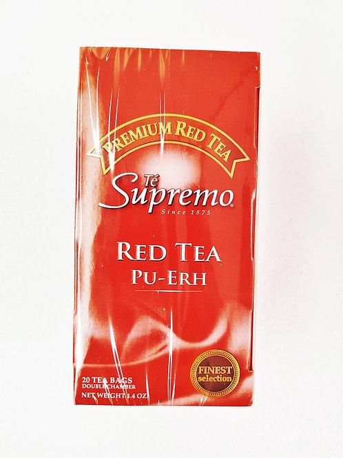 Té rojo premium caja x 20