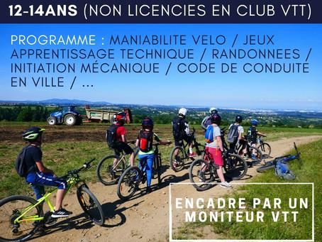 Haute-Loire / Stages VTT Enfant et Adulte / 2021