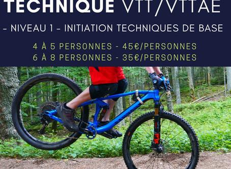 Mini-Stage initiation TECHNIQUE VTT/VTTAE samedi 25.07.20