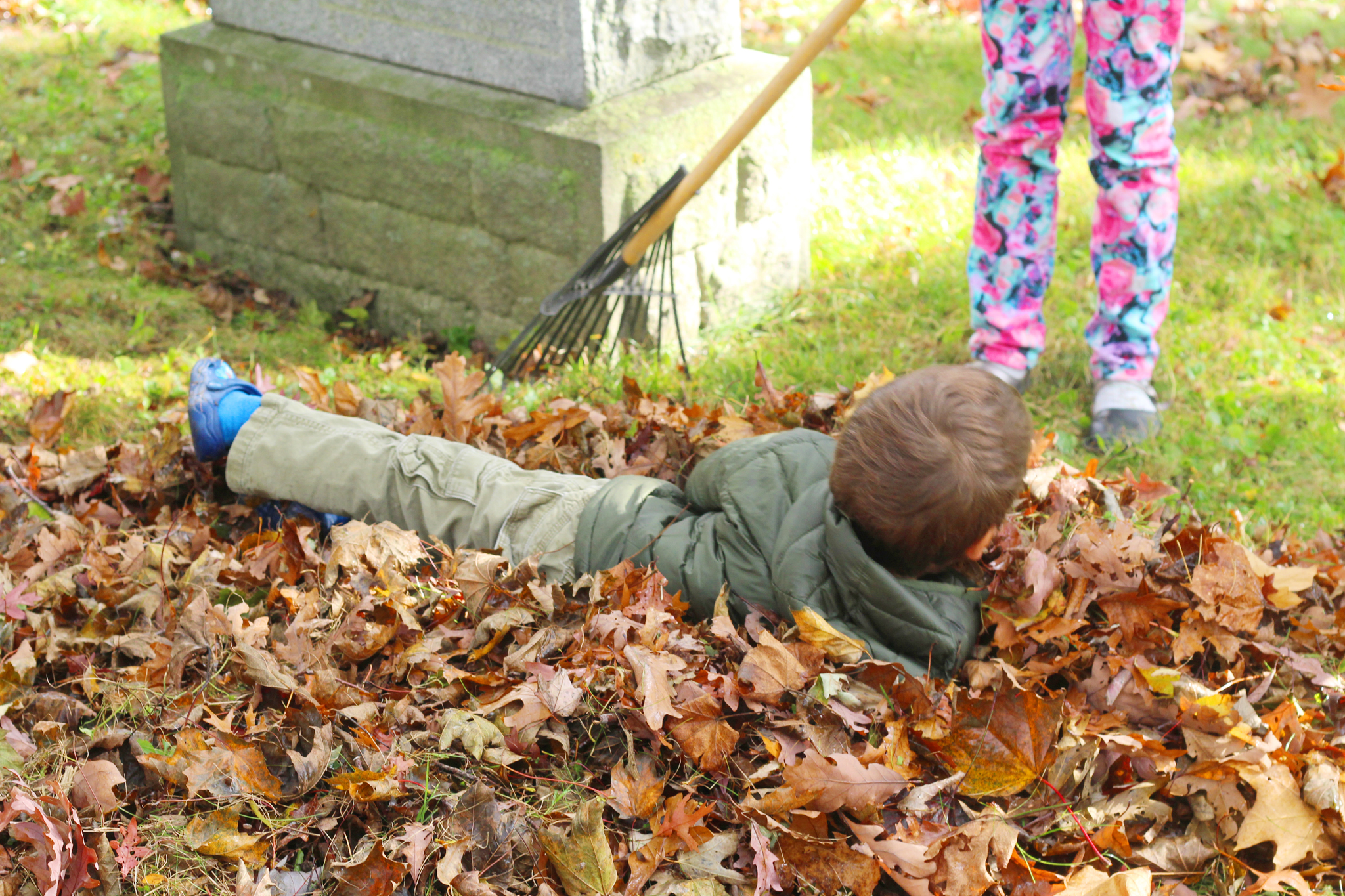 Leaf Raking Day