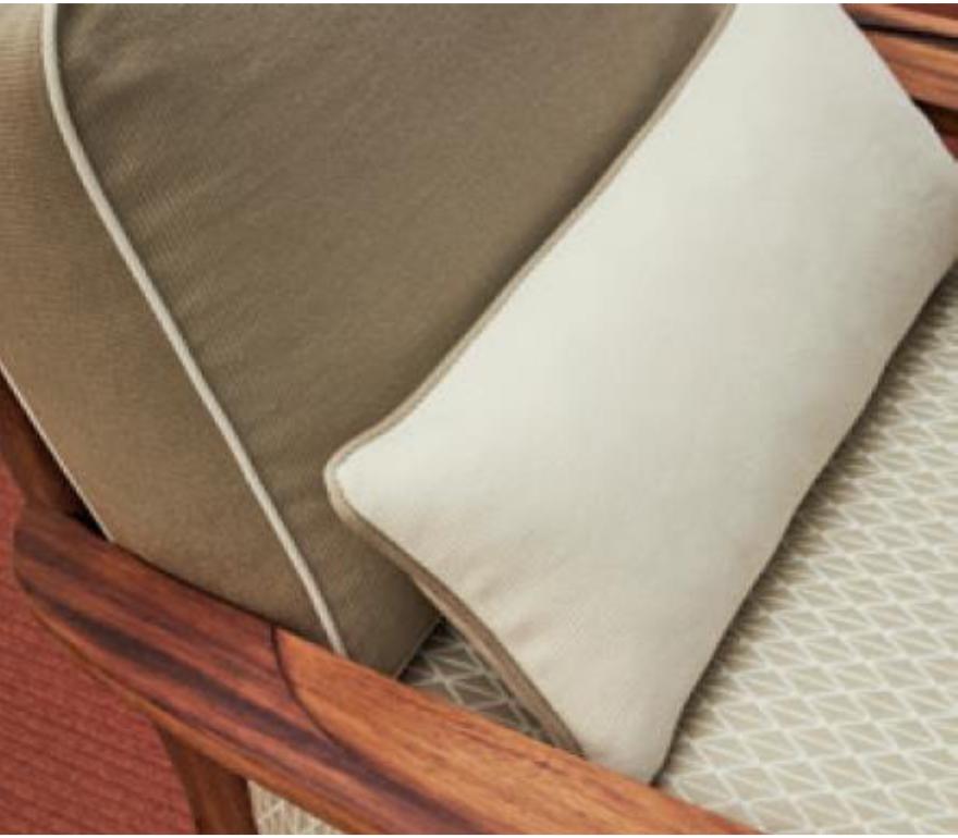 2021 Collection - outdoor fabrics, Malibu and Antibes