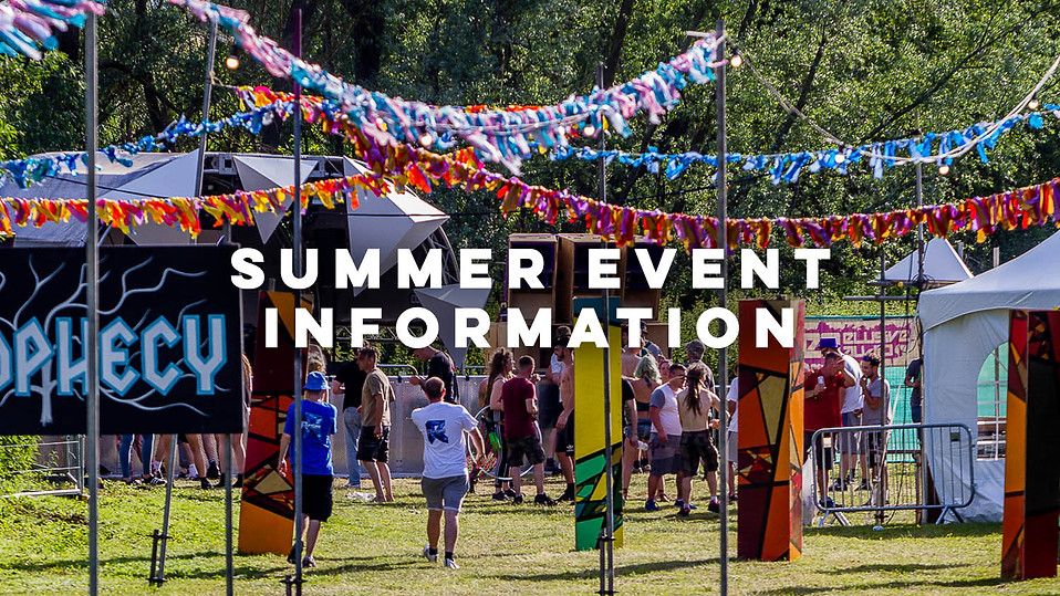 Summer Event Information