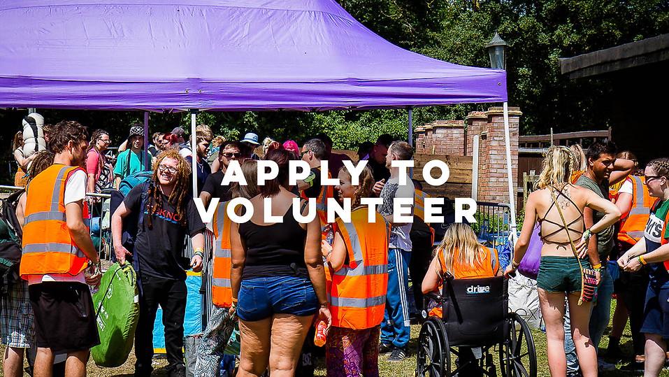 Apply To Volunteer