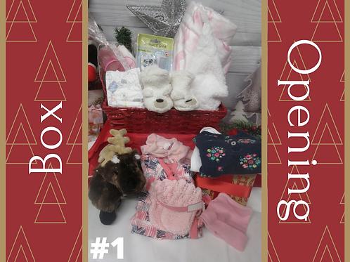 Christmas box opening