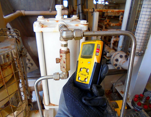 Personal H2S Gas Detector,Check gas leak
