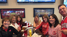 Badger Fans at Park Side Pub