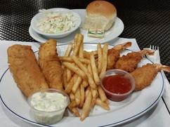 Fish and Shrimp Dinner - Park Side Pub