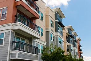 Modern luxury urban apartment building e