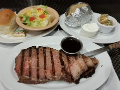 Prime Rib Dinner - Park Side Pub