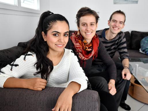 [Montpellier] Estelle et Luc accueillent Beheshta, qui vient d'Afghanistan