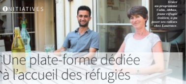 [Paris] Laurence et son mari accueillent Abbas, qui vient d'Irak