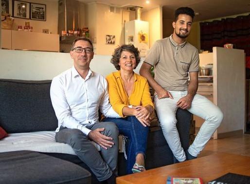 [Toulouse] Caroline et Nicolas accueillent Mohammad, qui vient d'Afghanistan