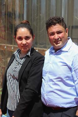 Benafsha et Masood SADAT