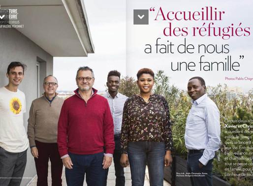 """[Lyon] Xavier et Christophe : """"Accueillir des réfugiés a fait de nous une famille"""""""