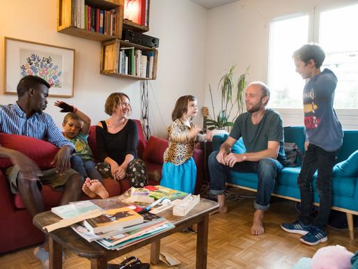 [Lyon] Pour Keren et Marc, ouvrir leur porte à Abdou était une évidence