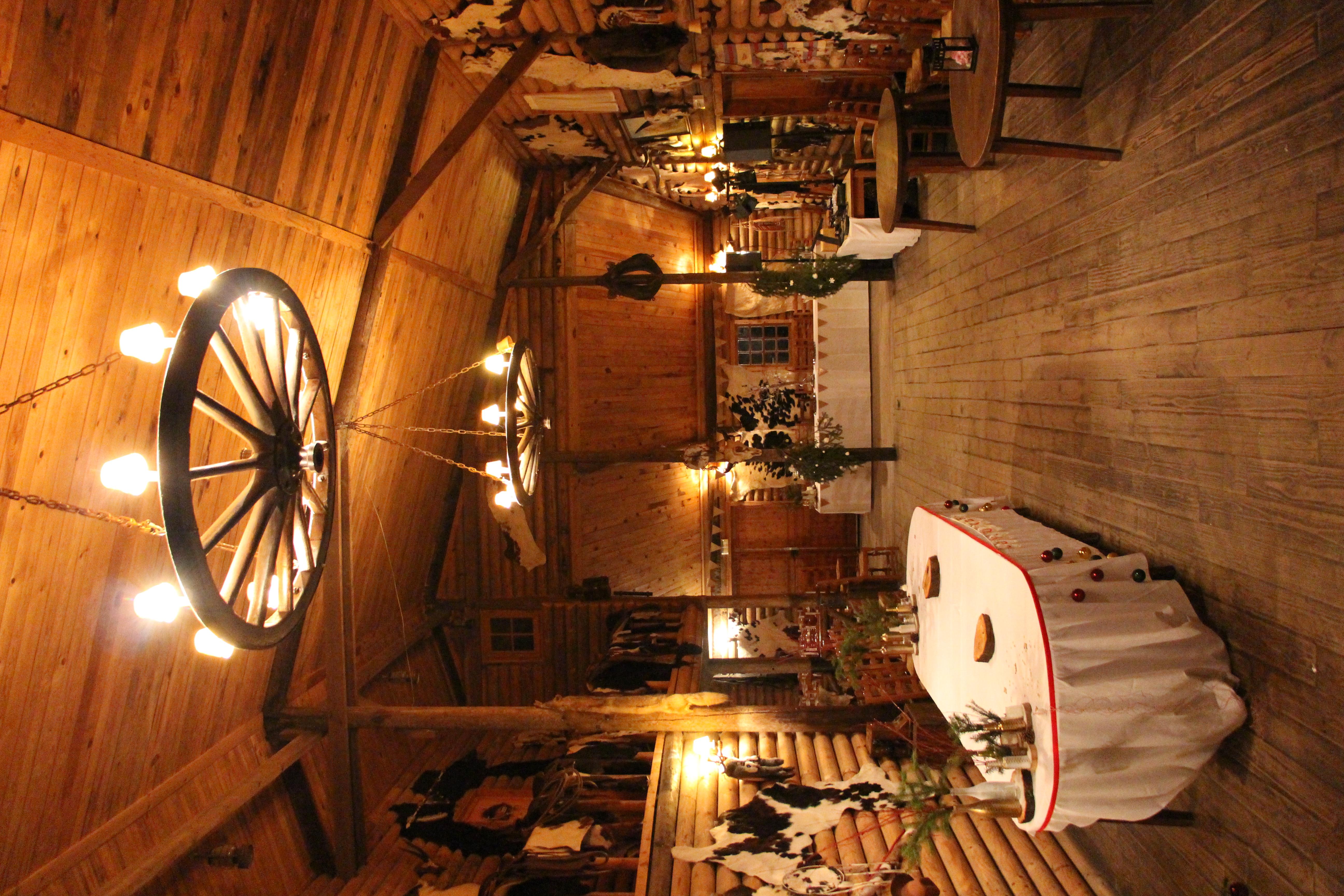 Intérieur du Ranch