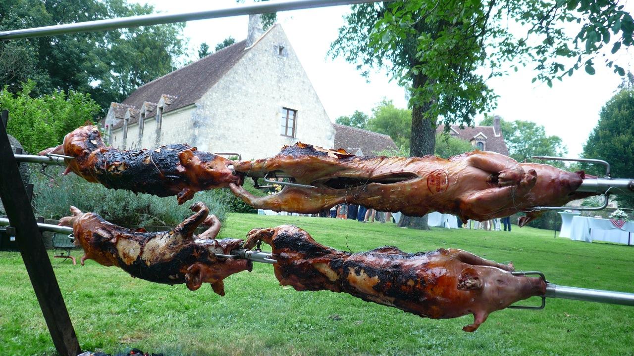 barbecue réception privée