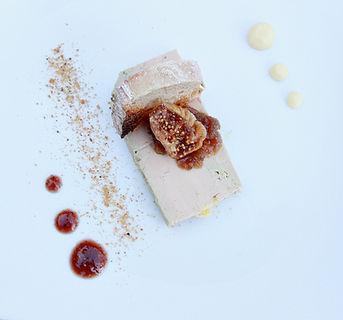 Foie gras repas de mariage Gilher