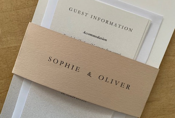 Wrap Evening Invitation