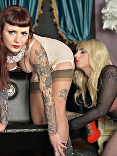 Mistress Ultra Violet & Sissy Kylie