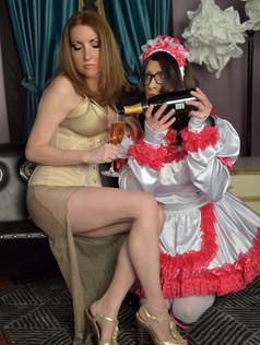 Mistress Ayn & Sissy Melanie