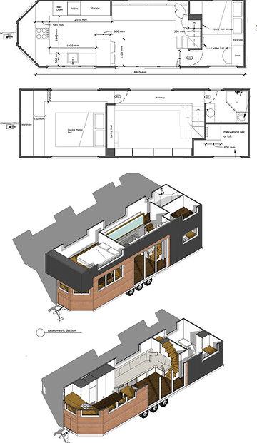 Tiny House Plans - Holly Design