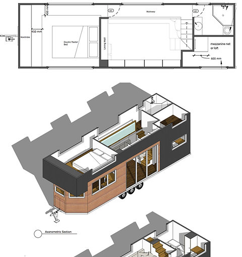 Tiny House Plans - Holly Design