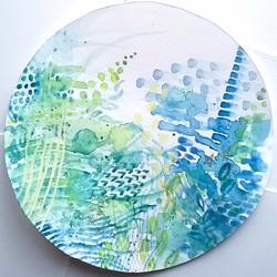 Blue Circle I 2016