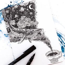 "Inktober 2019 Day  7 ""Enchanted"""