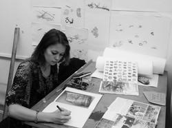 'Tidelines' studio work 2015