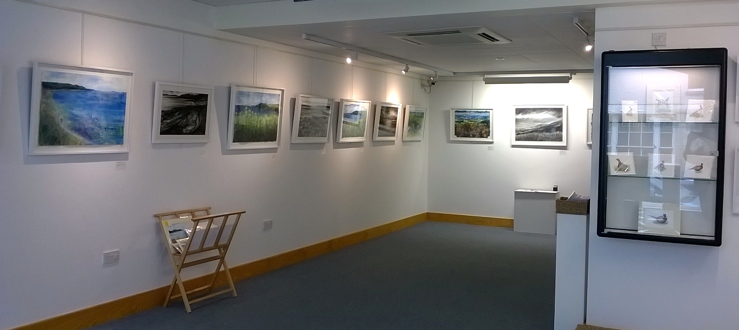 'Land & Sea' Solo Exhibition
