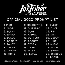 The Official 2020 Prompt List