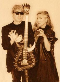 Gigerstien with Blondie